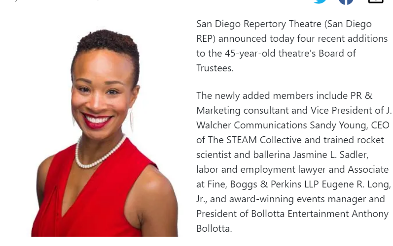 San Diego REP Welcomes New Members to Board Of Trustees