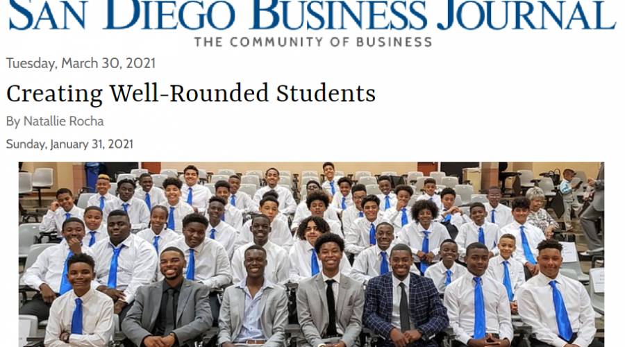 San Diego Business Journal - Creating Well-Rounded Students